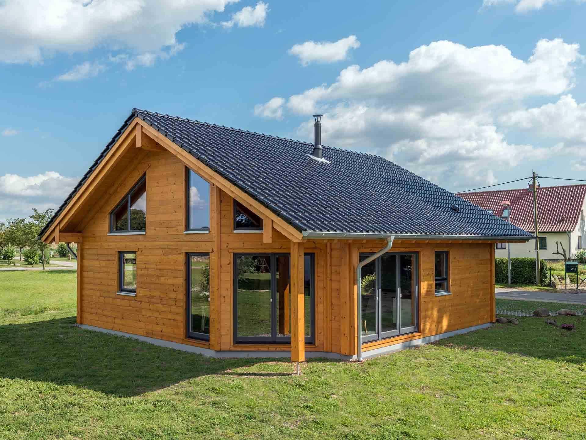 Musterhaus Wismarbucht Fullwood Wohnblockhaus (mit