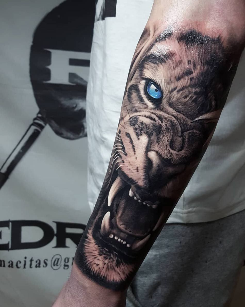 90 Tiger and Lion Tattoos That Define Perfection Page 6