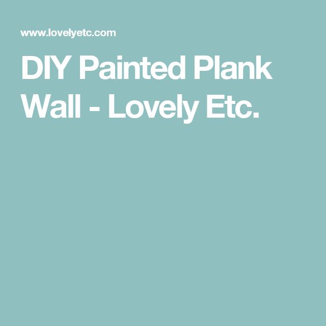 How to Make a Stunning DIY Plank Wall   Planked walls, Plank and Walls