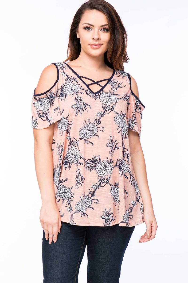 7bf4bbd962cd8 MISIA - Plus Size Floral print