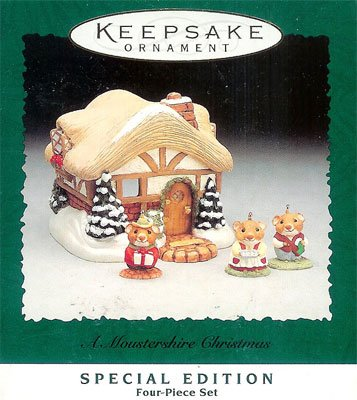 1995 A Moustershire Christmas in 2020 Hallmark ornaments