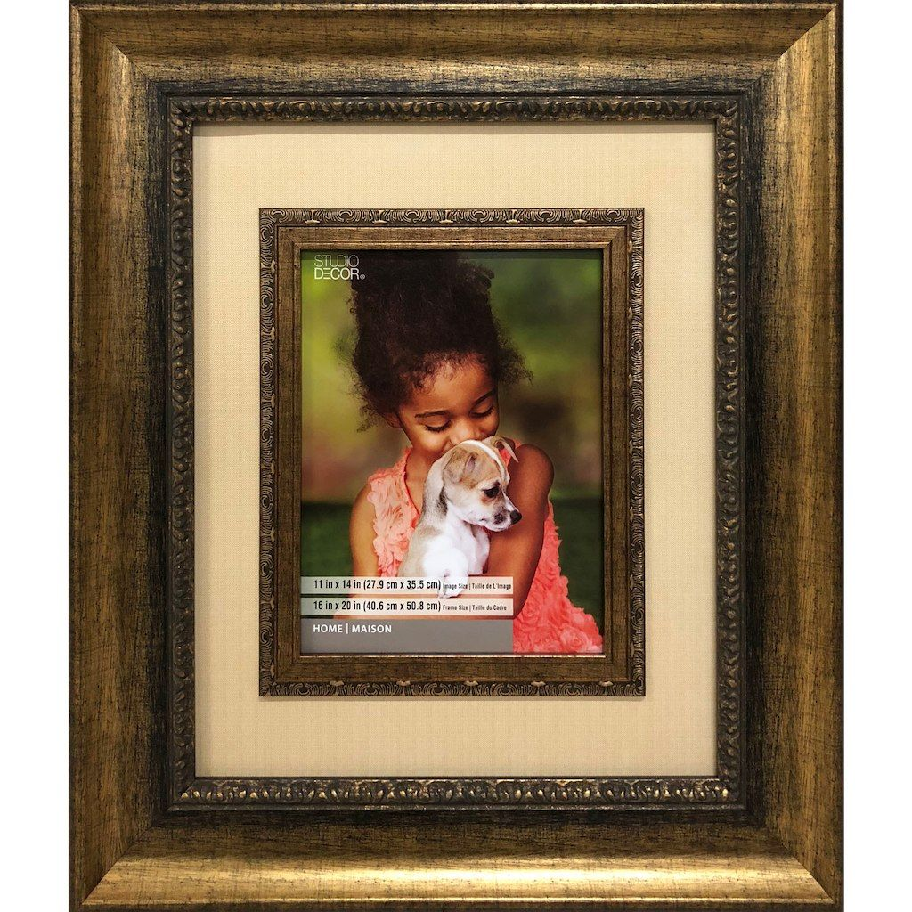 Bronze 16 X 20 Frame With Mat Home Collection By Studio Decor Studio Decor Decor Home Collections