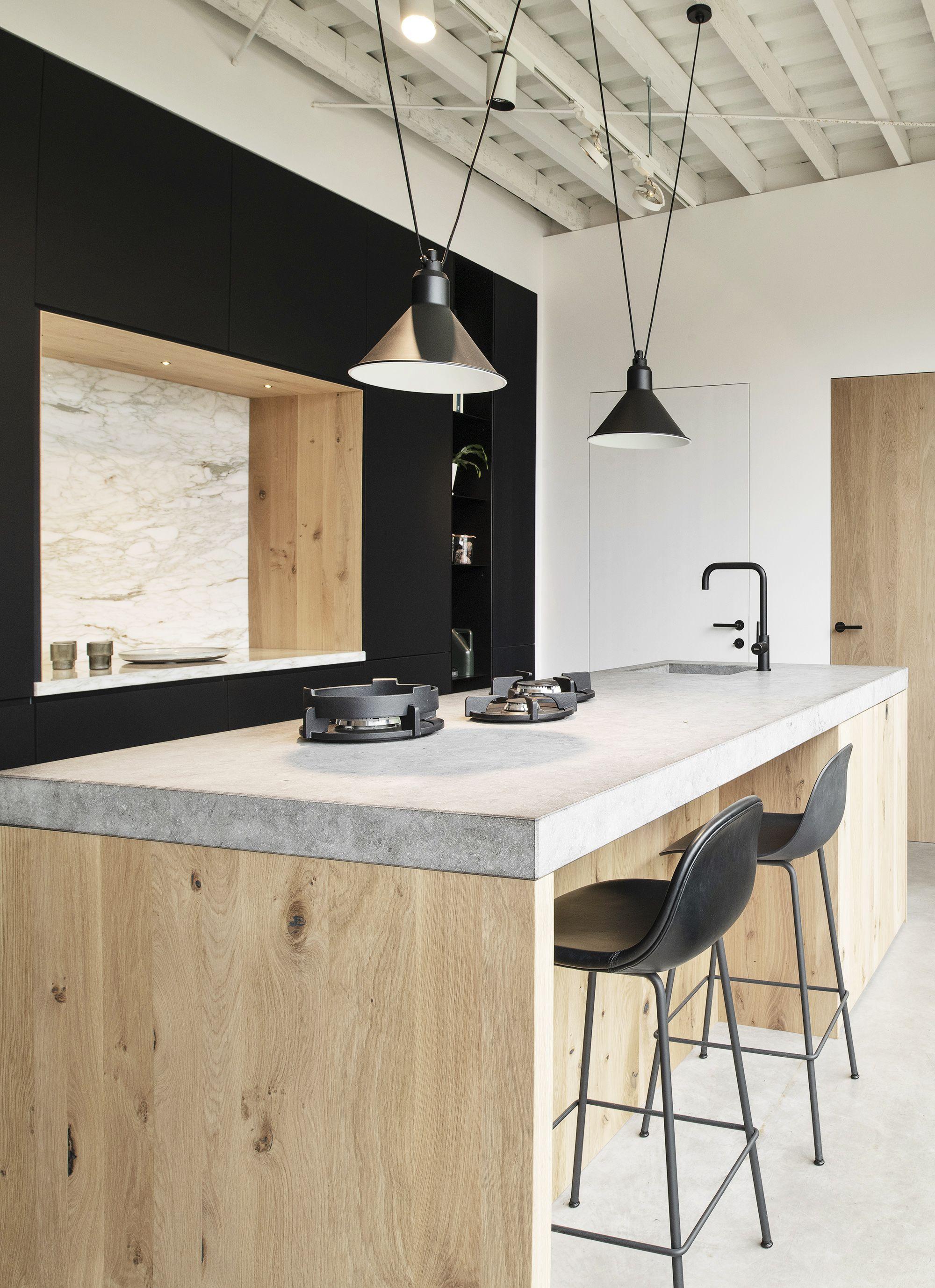 Maatwerk Keukens Hout Steen Staal En Composiet Op Maat Houtmerk In 2020 Vrijstaande Keuken Houten Keuken Keukens