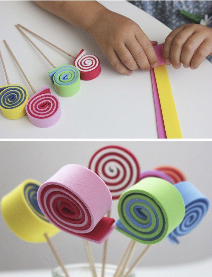 اعمال يدوية بسيطة بالصور جربها Spring Crafts For Kids Spring Crafts Crafts