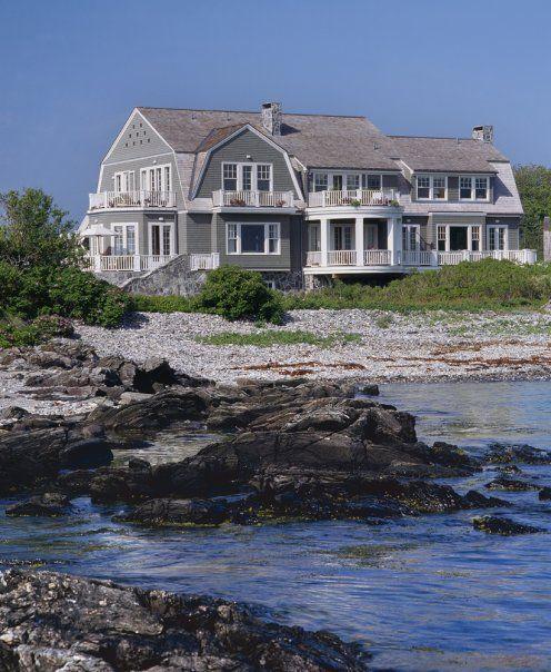 Mary Douglas Drysdale S Dream Beach House Jennifer Sergent Dream Beach Houses Beach House Exterior Beach Cottage Style