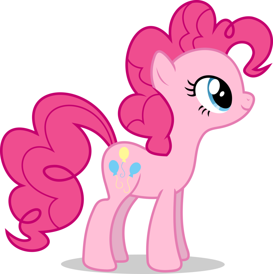 Mlp Fim Pinkie Pie Vector By Luckreza8 Pinkie Pie My Little Pony Twilight My Little Pony Party