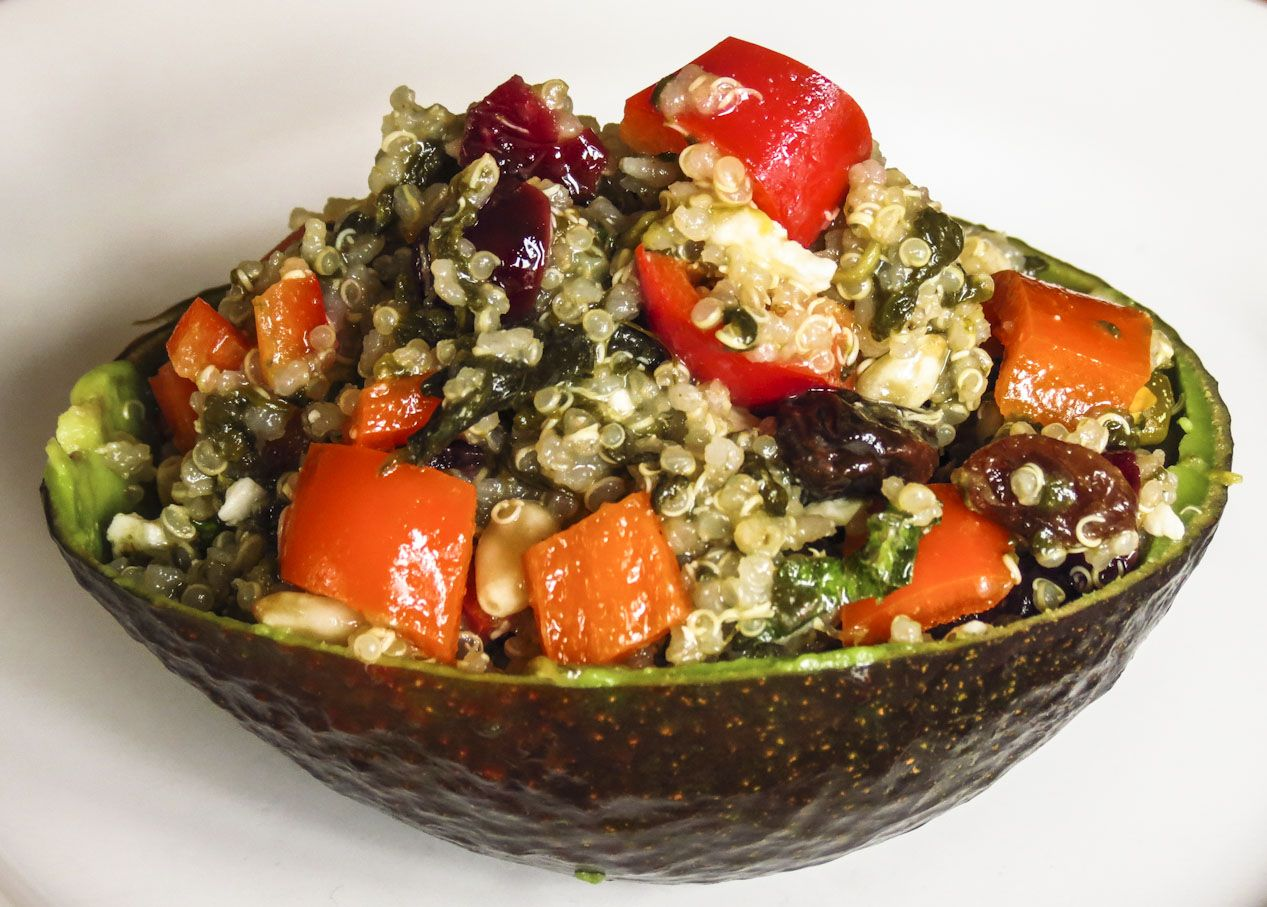 Quinoa Salad: OnTheMove-In the Galley