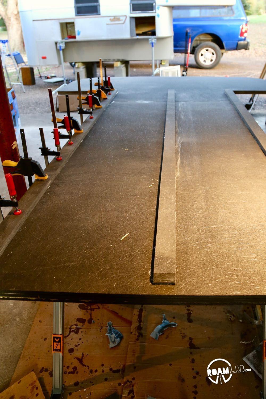 Replacing Rotten Truck Camper Floor Camper flooring