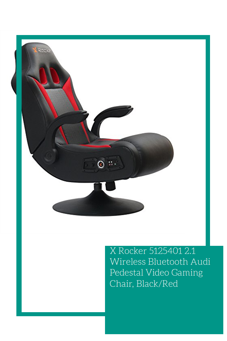 Sensational X Rocker 5125401 2 1 Wireless Bluetooth Audi Pedestal Video Machost Co Dining Chair Design Ideas Machostcouk