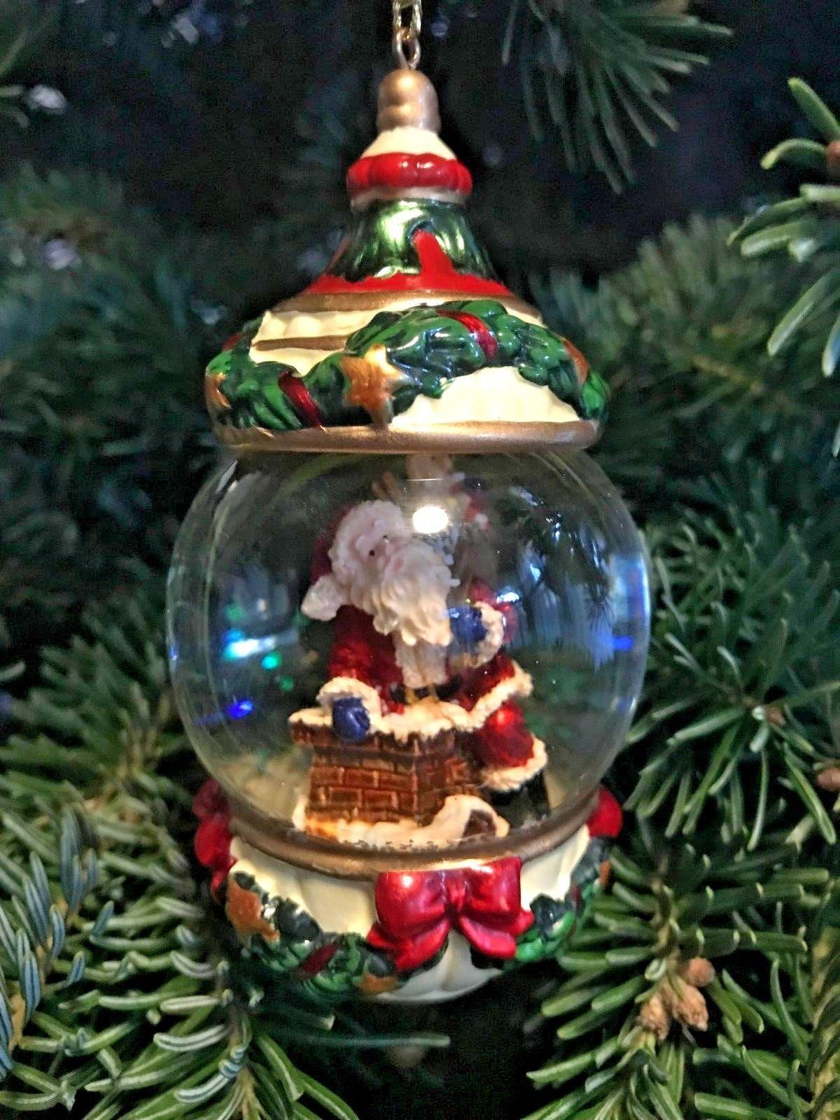 Costco KIRKLAND Signature Water Snow Globe Ornament