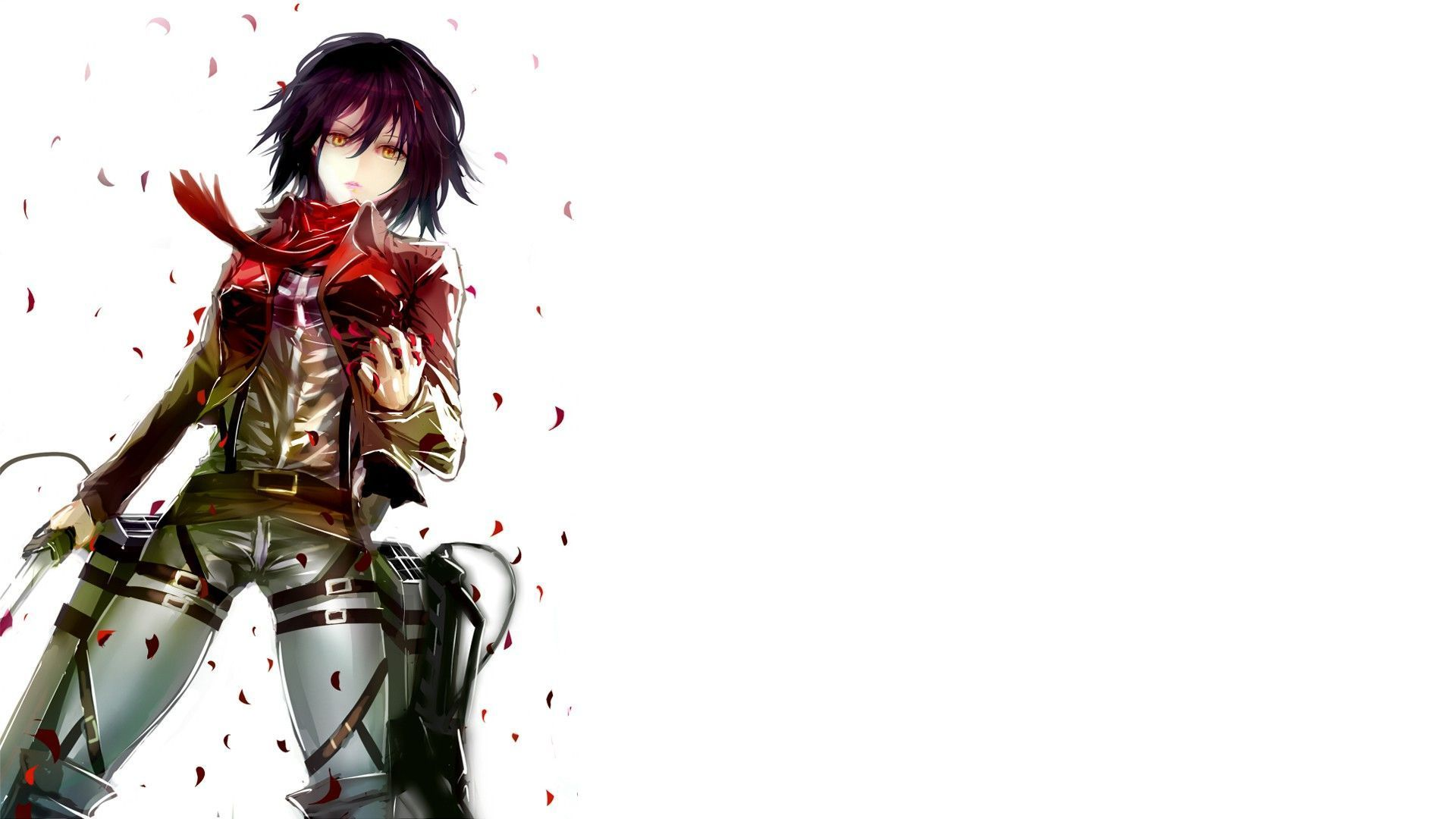 wallpapers mikasa ackerman hd - photo #4