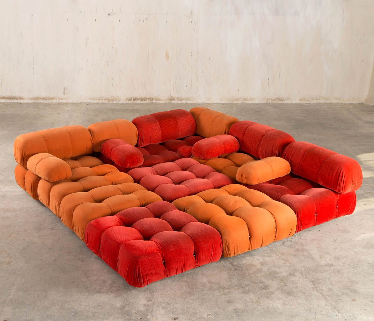 39 camaleonda 39 modular sofa by mario bellini for c b italia for Sofas modulares