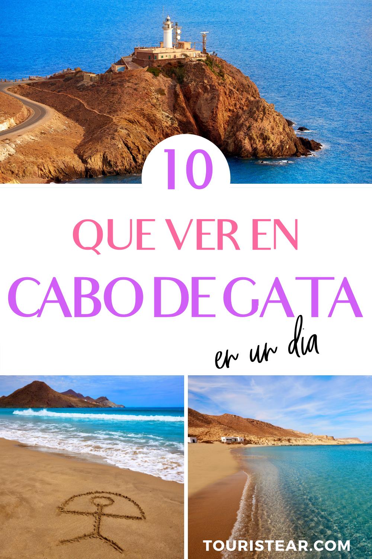 Cabo De Gata Un Lugar Imprescindible Para Visitar En España Lugares De España Viajar Por España Playas España