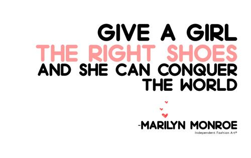 The right shoes... ~MM