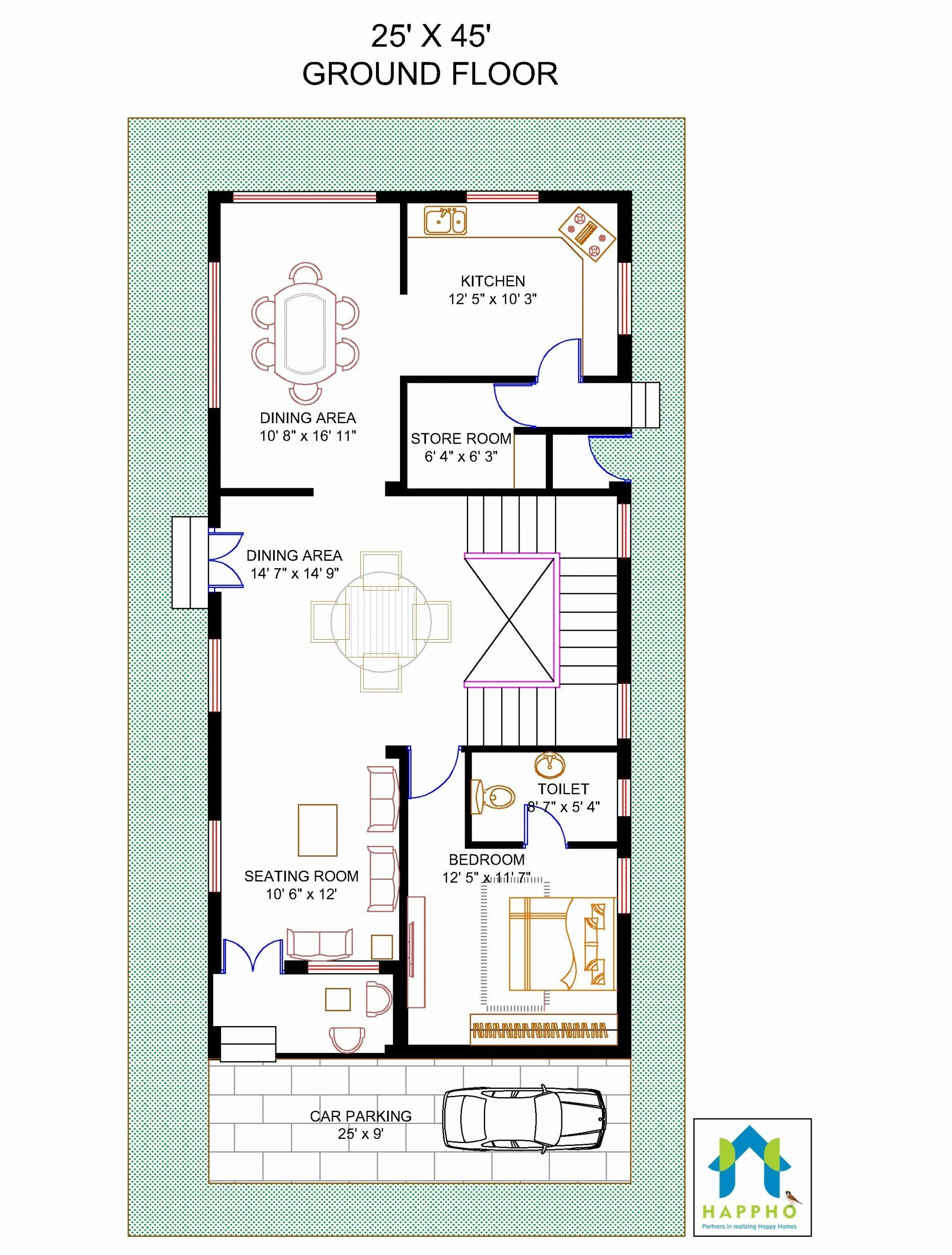 45 Foot Wide House Plans Awesome 24 Unique How Much Does A Hardwood Floor Cost Per Square House Floor Design Garage Floor Plans Modular Home Floor Plans