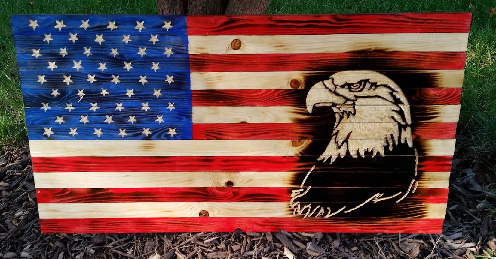 Visit The Post For More Wood Flag Wooden Flag American Crafts