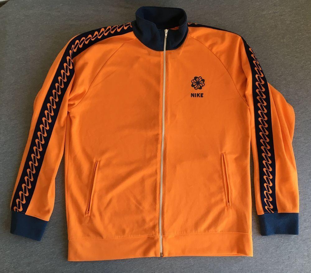 864ec9644db03 Nike Pinwheel Jacket Sweatshirt Warm Up Track Orange Reissue ...