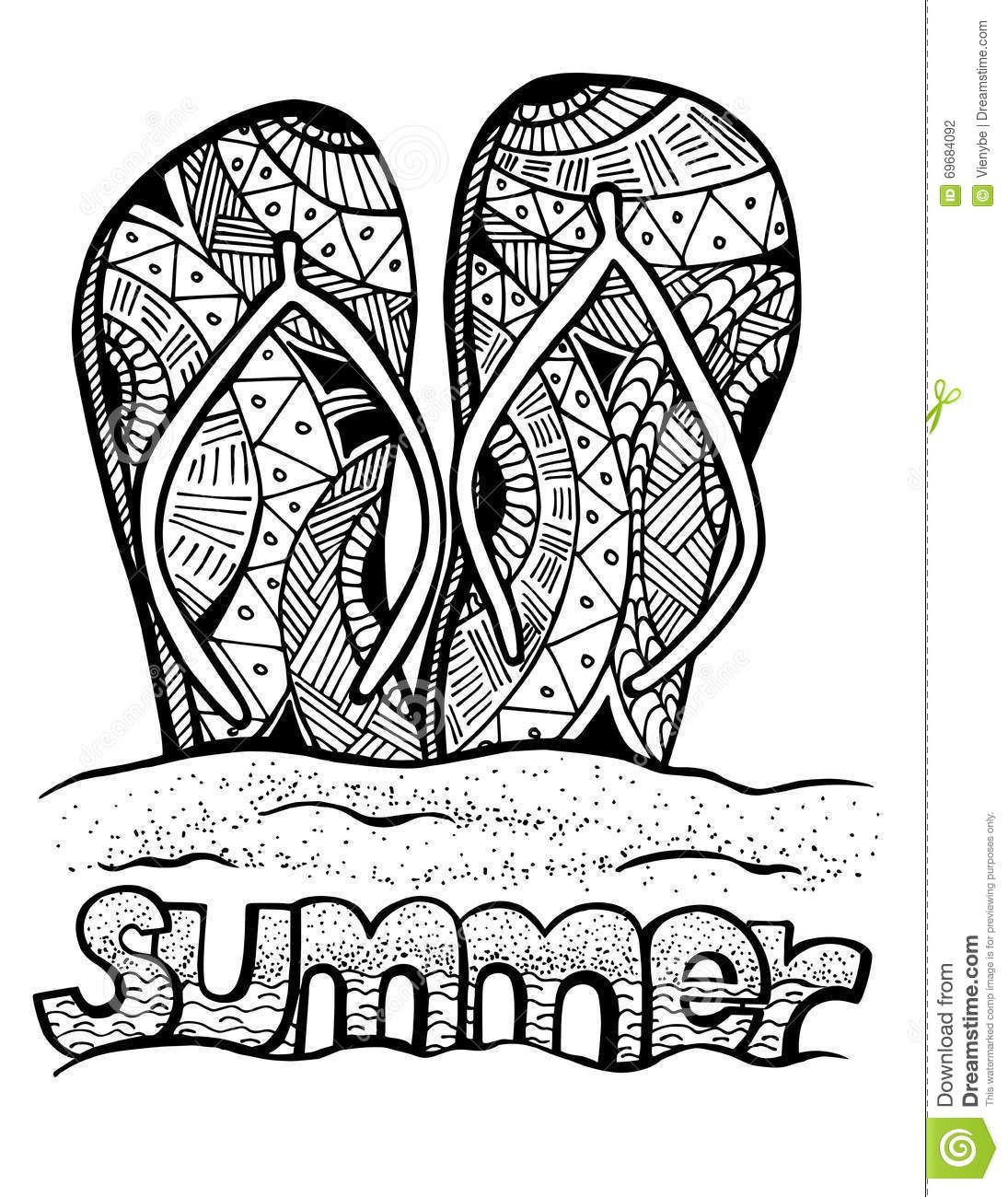 Pin By Janet On Zentangle Summer Coloring Pages Beach Coloring Pages Coloring Pages