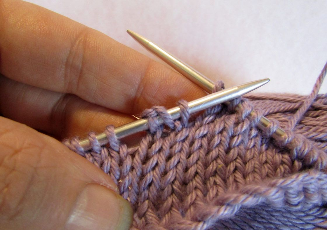 German short rows a tutorial learn how to knit the row