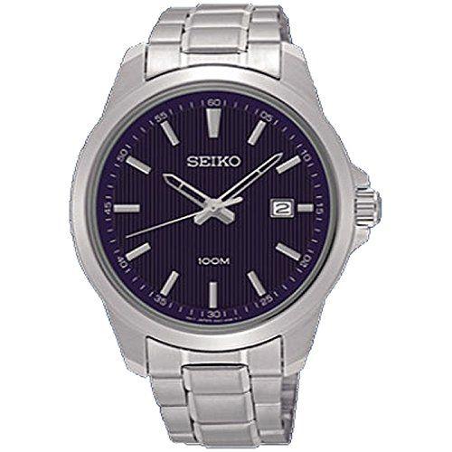 nice Watch Seiko Neo Classic Sur153p1 Men´s Blue 135.72