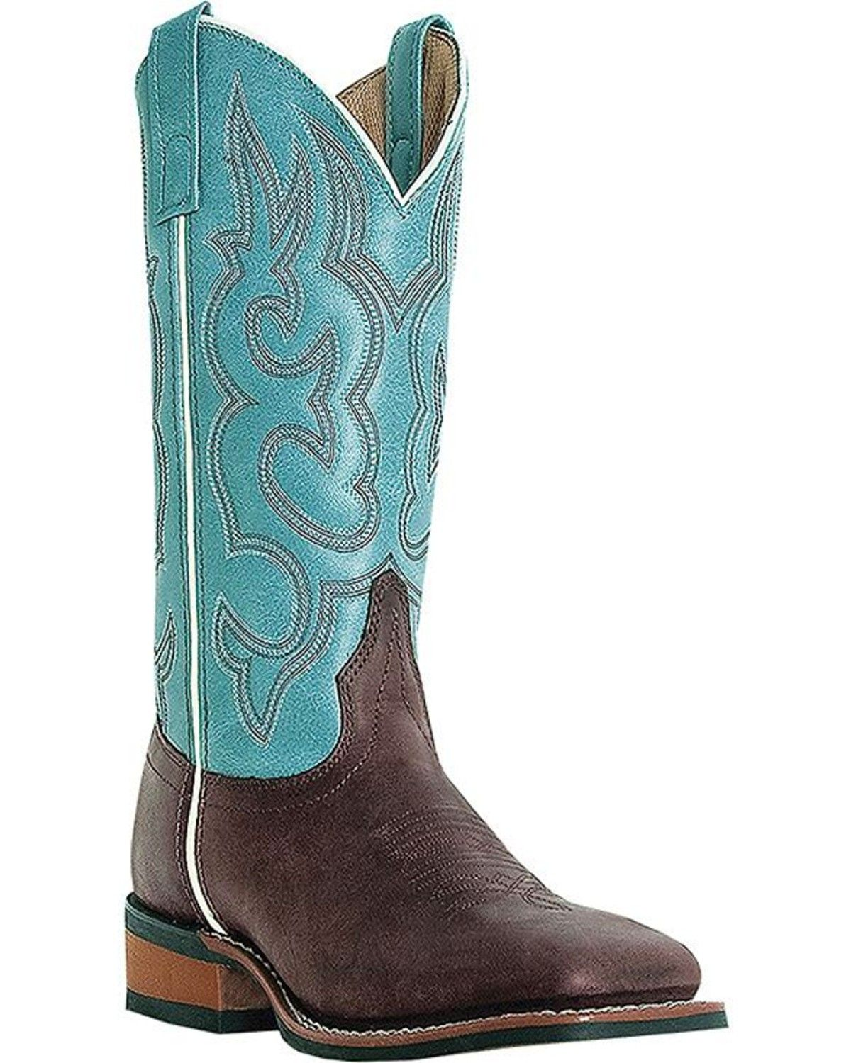 984d745cf03 Laredo Mesquite Cowgirl Boots - Square Toe in 2019 | Shopping | Shoe ...