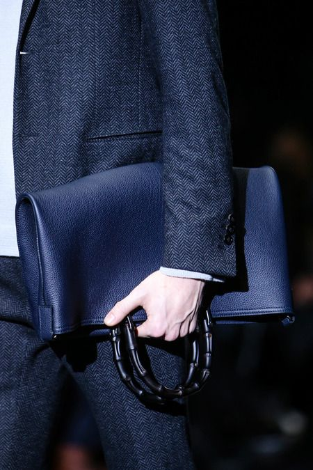Gucci   Fall 2014 Menswear Collection   Style.com   Man Sack ... 1ae214129d7
