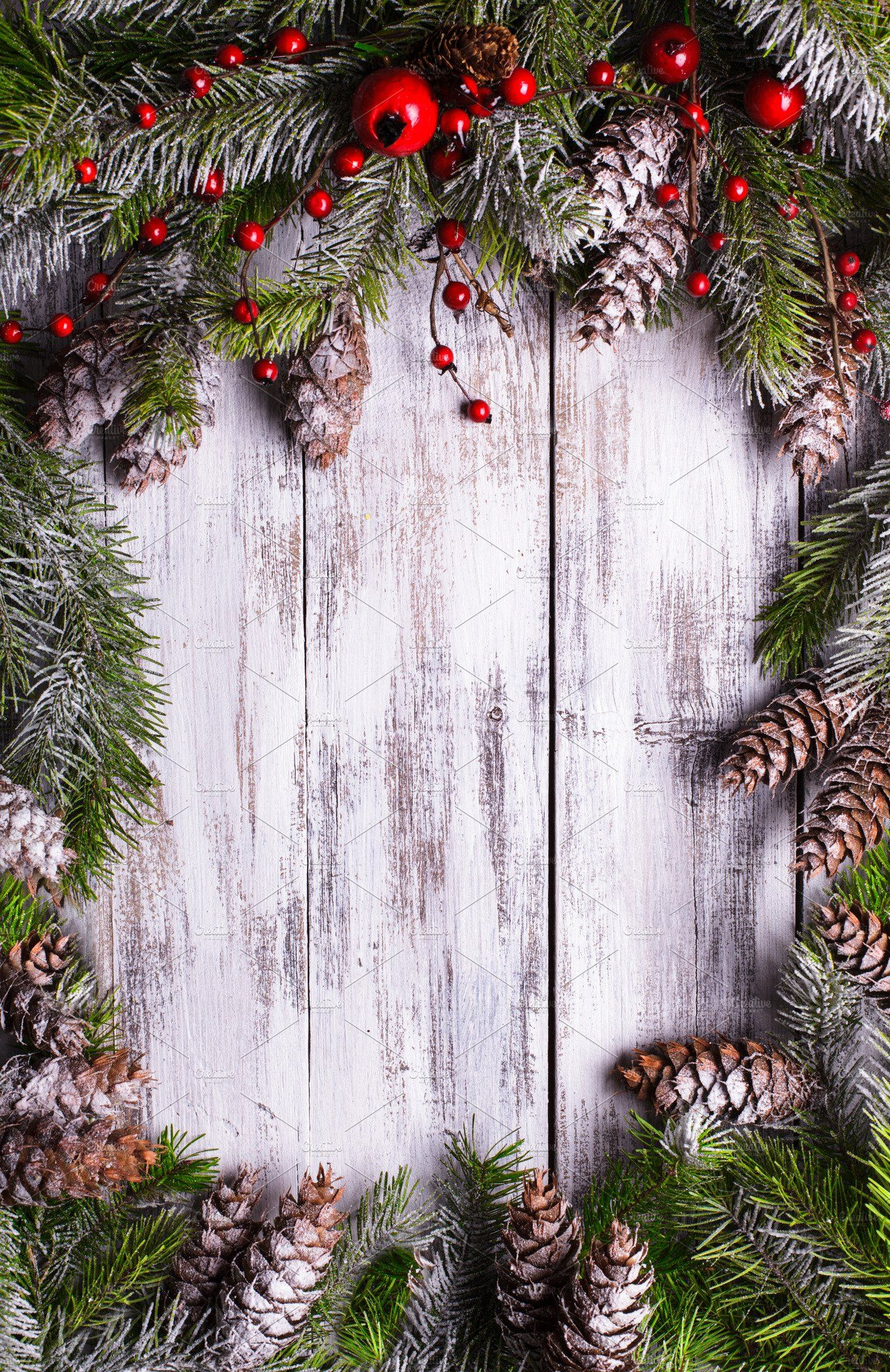 Christmas Border Design Featuring Background Bauble And Berry Cute Christmas Wallpaper Christmas Border Xmas Wallpaper