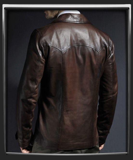 Men/'s CLASSIC 1970 Brown Retro Short 70/'s Bomber Pilot Lambskin Leather Jacket