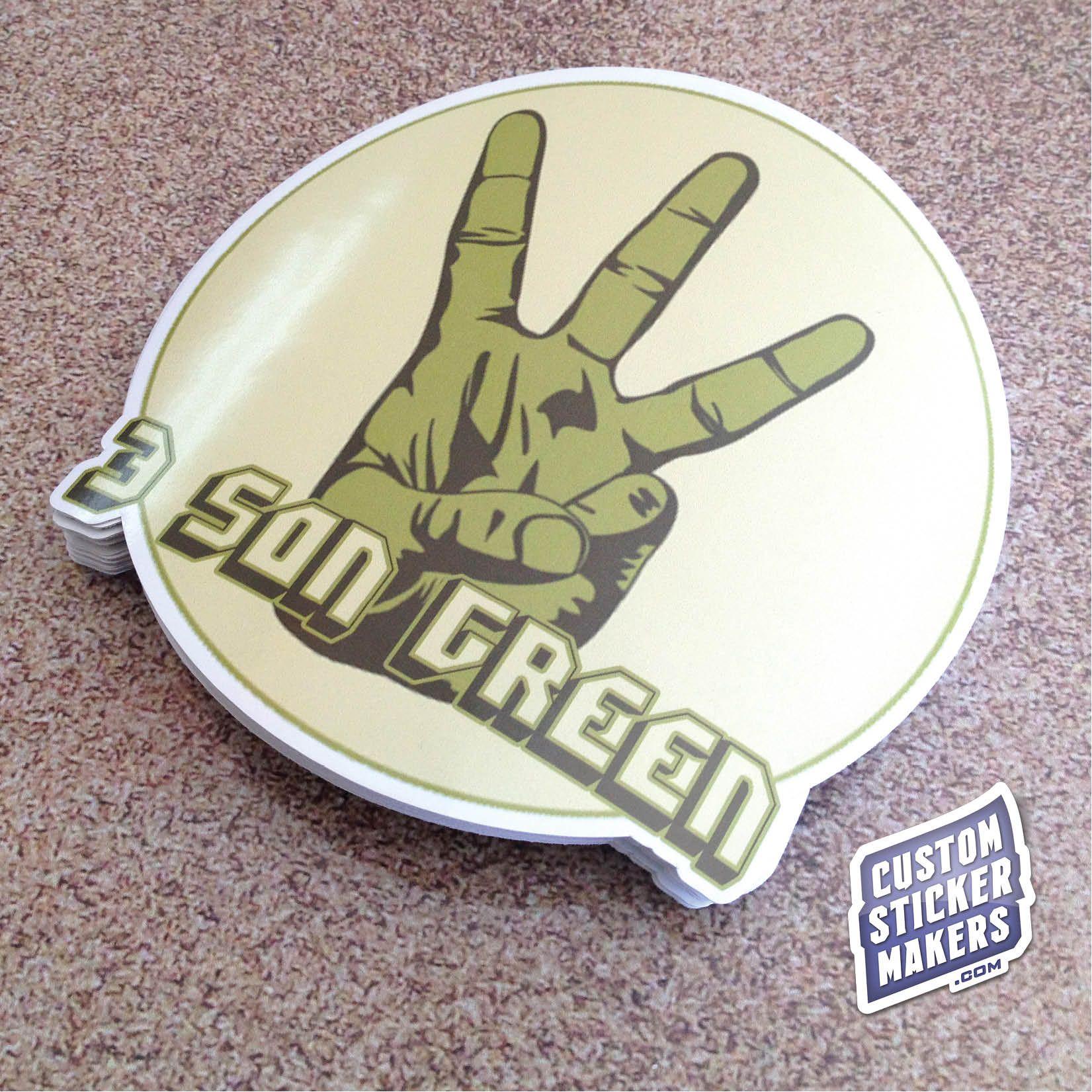 Pin by custom sticker makers on custom die cut stickers custom die