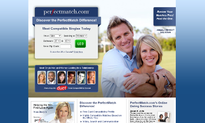 Perfectmatch dating site review