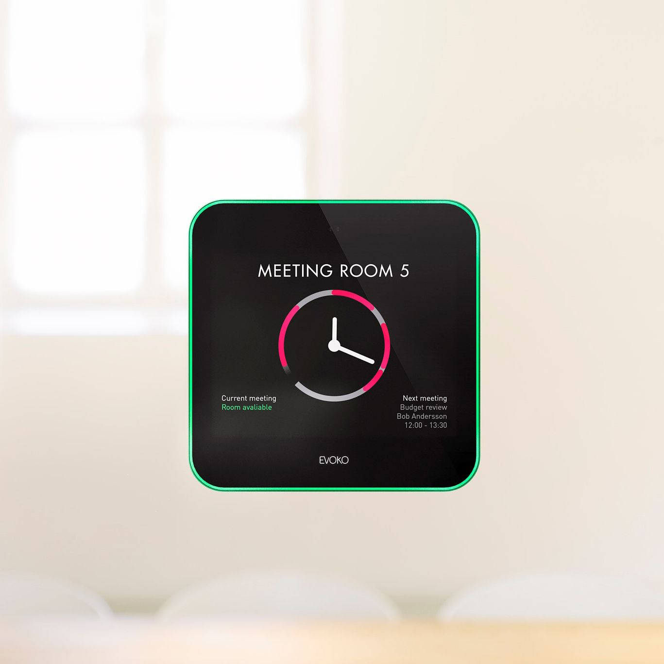 Evoko Product Nest Thermostat Meeting Room Thermostat
