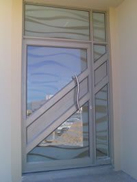 Glass and Aluminium Doors | Front doors | Pinterest | Doors, Glass ...