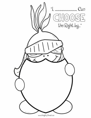 choose the right 2017 free coloring pages 2