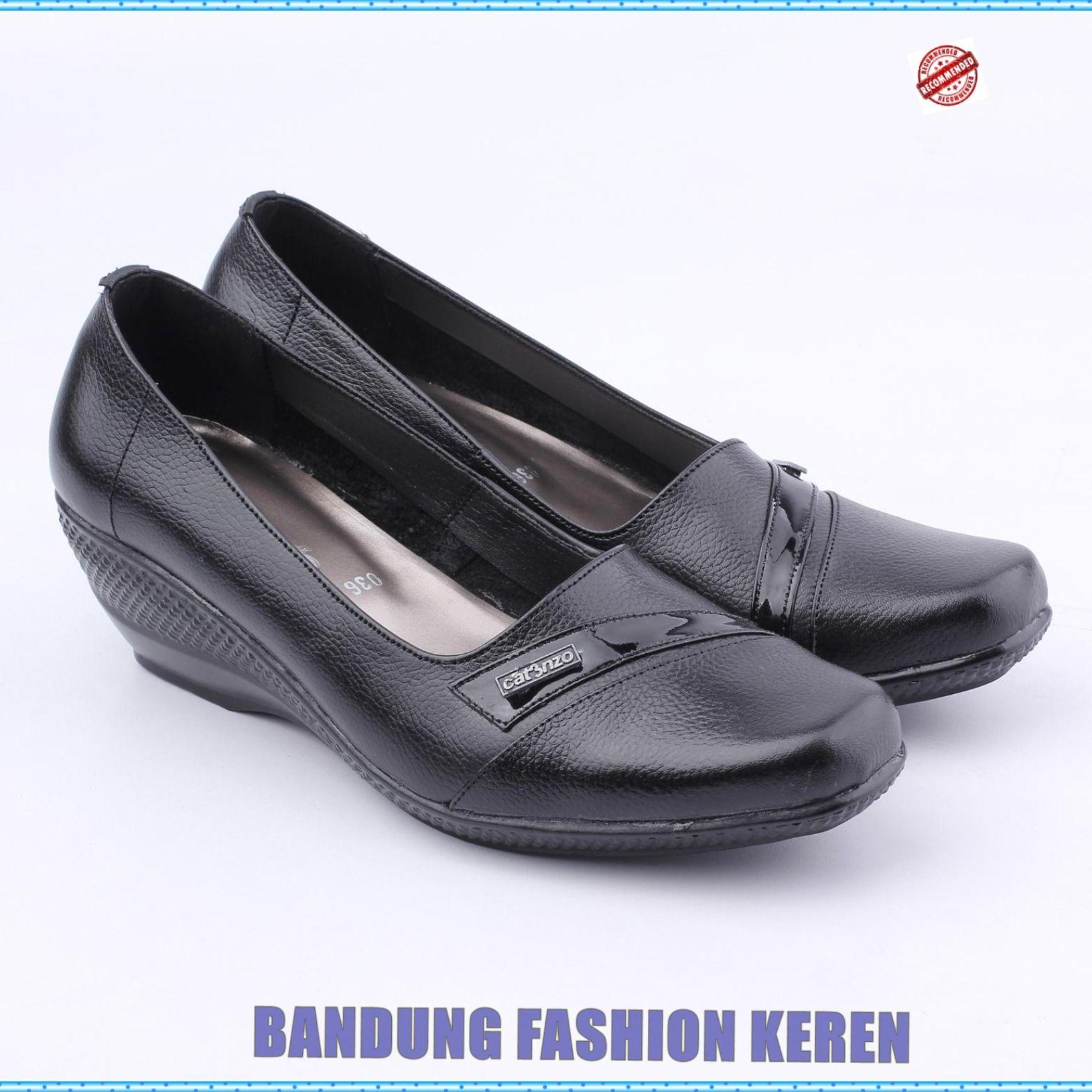 Sepatu Formil Wanita Us 036 Produk Fashion Handmade Terbaik 100 Persen Asli Produk Indonesia Asal Bandung Kota Paris Van Java Produk Te Sepatu Hitam Wanita