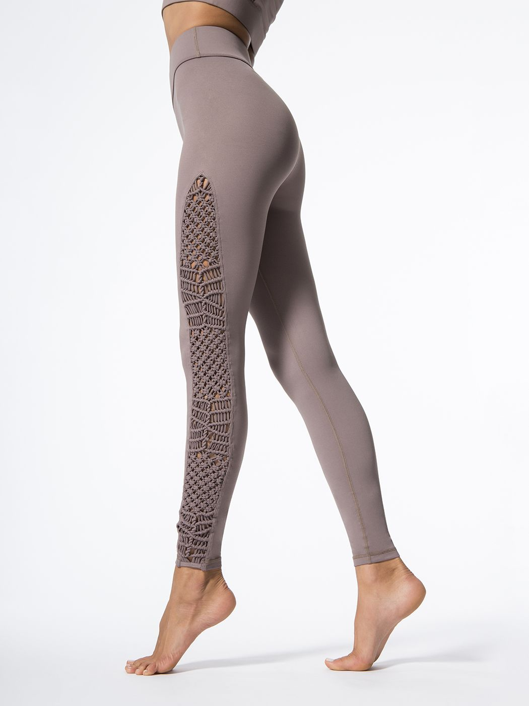 d7fe9e01d6a9f The Tanjung in beige from the Sayang Collection by Carbon38 is an  antimicrobial, moisture-wicking and wrinkle-resistant legging with a  high-rise waistline.