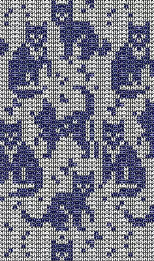 Nice Katze Stickmuster Crest - Decke Stricken Muster ...