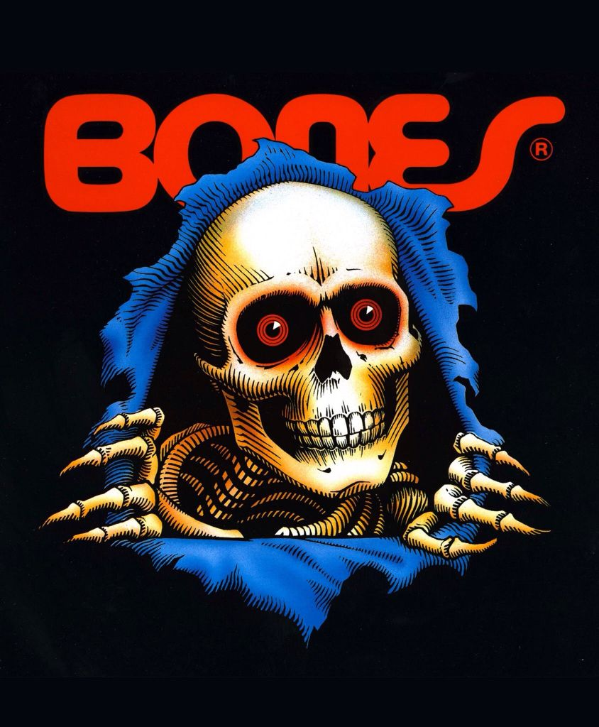 Image result for bones skate logo