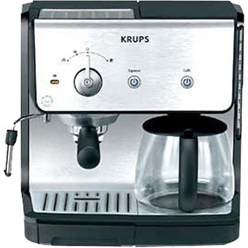 Krups Xp2010 Combination Unit 10 Cup Coffee Maker 15 Bar Pump Espresso Krups Http Www Amazon Com Dp B000 Coffee Maker Machine Coffee Maker Espresso Coffee