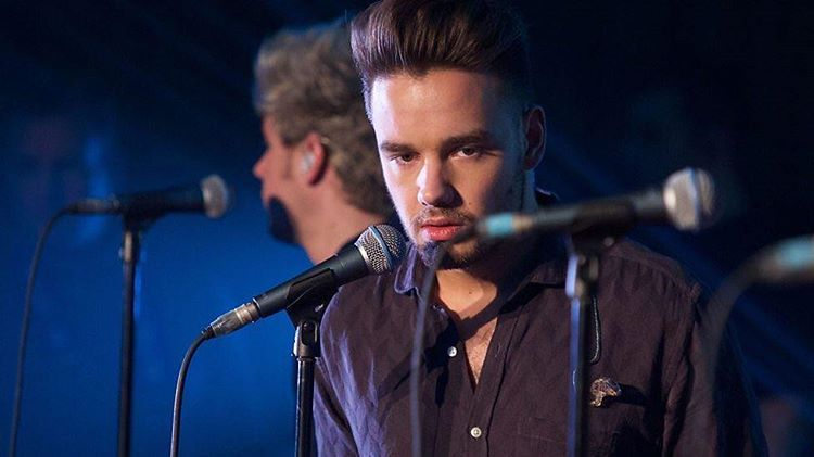 Liam at BBC 1's lounge