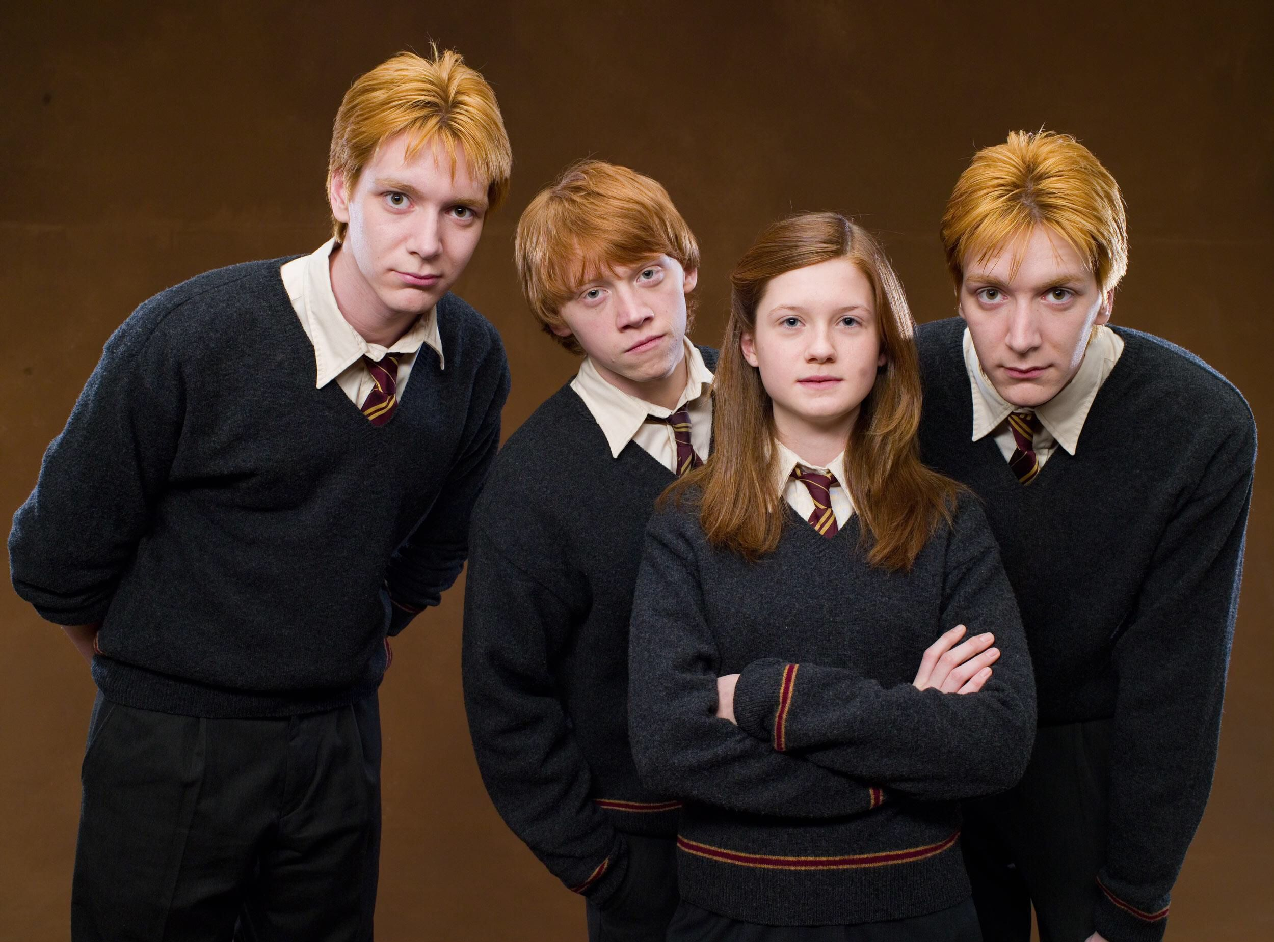 The Dream Team | Harry Potter | Ginny weasley, Harry potter cast