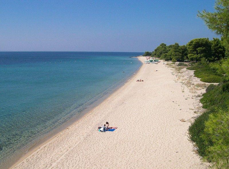 Lagomandra beach Sithonia Halkidiki Places in Sithonia