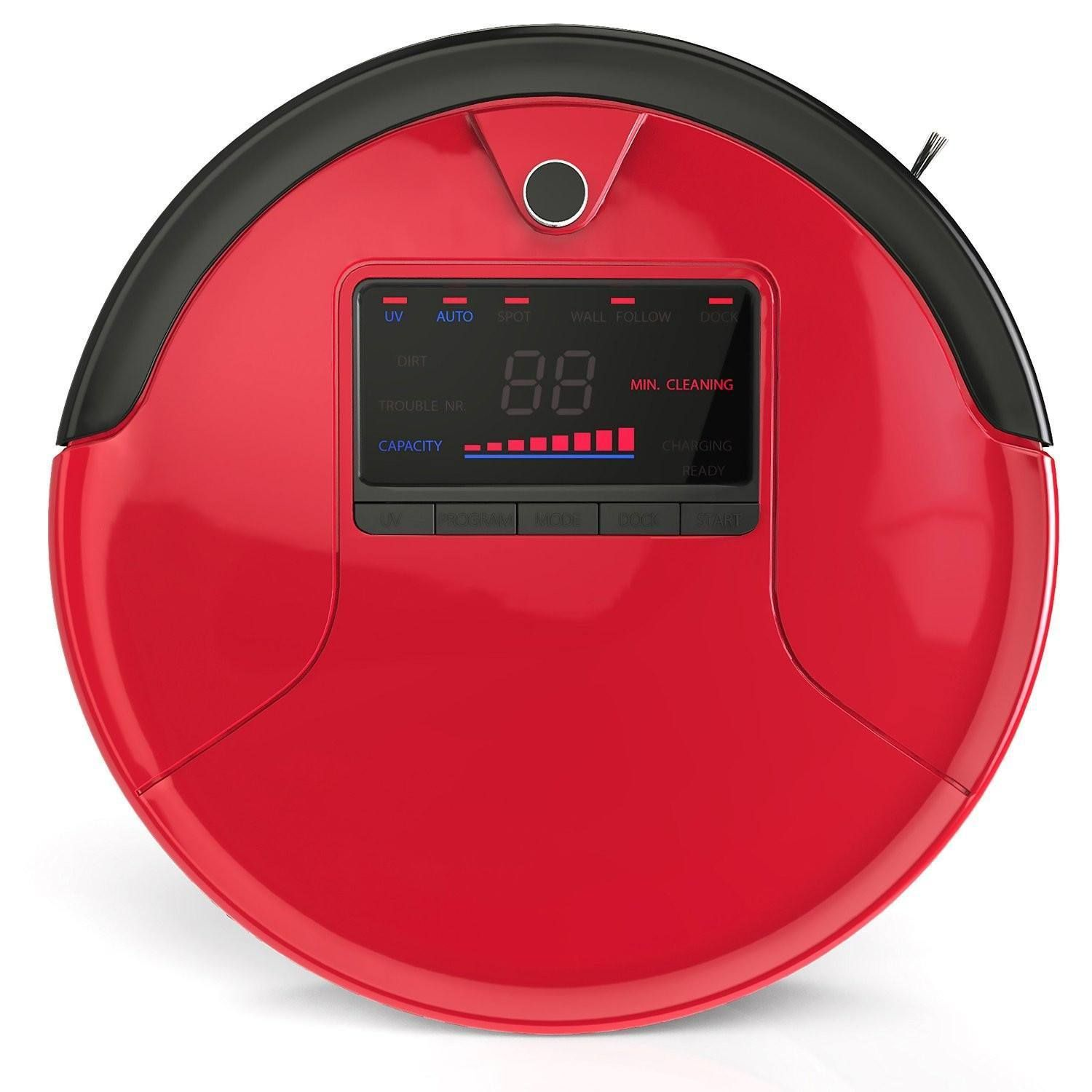 Rouge bObsweep PetHair Robotic Vacuum Cleaner and Mop