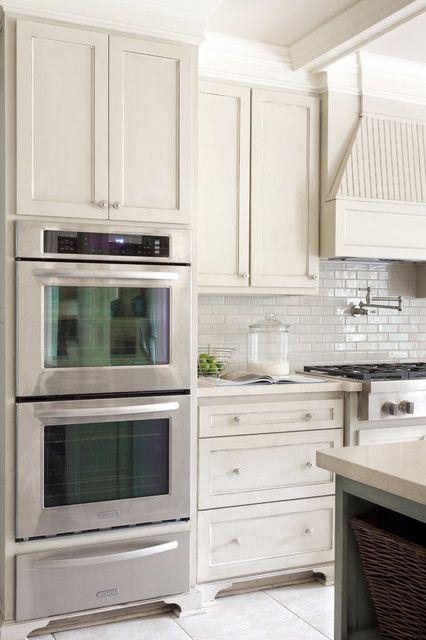 Kitchen Greige Kitchen Ivory Kitchen Kitchen Cabinets Decor