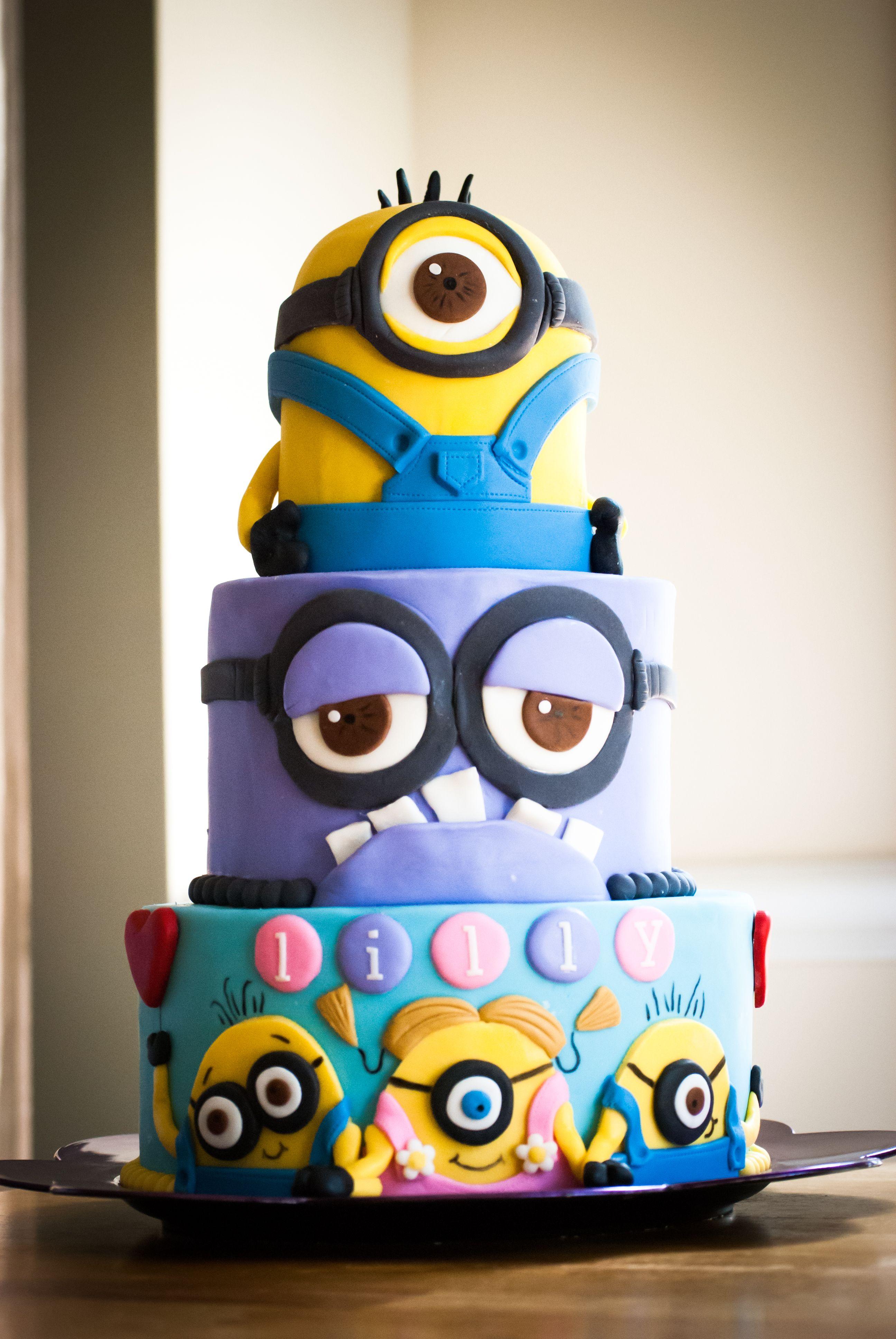 Minion first birthday cakes google search minions pinterest birthday cakes cake and - Cake decorations minions ...