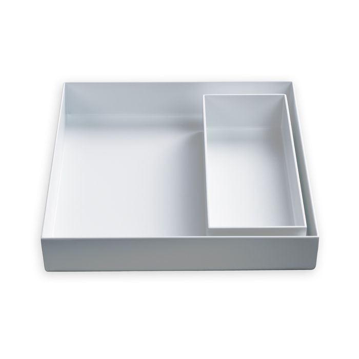 Hay Tablett tray tablett weiß weiß 2er set small hay design color your home