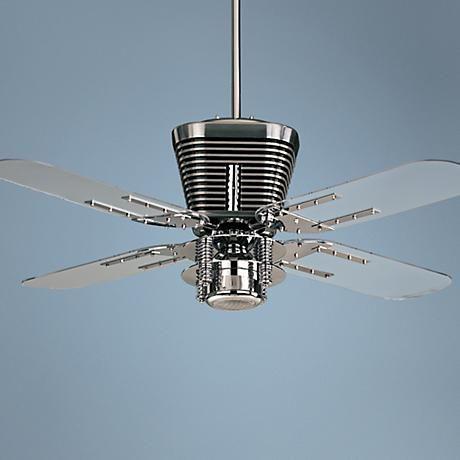 52 quorum retro chrome ceiling fan with light kit retro glam 52 quorum retro chrome ceiling fan with light kit aloadofball Gallery