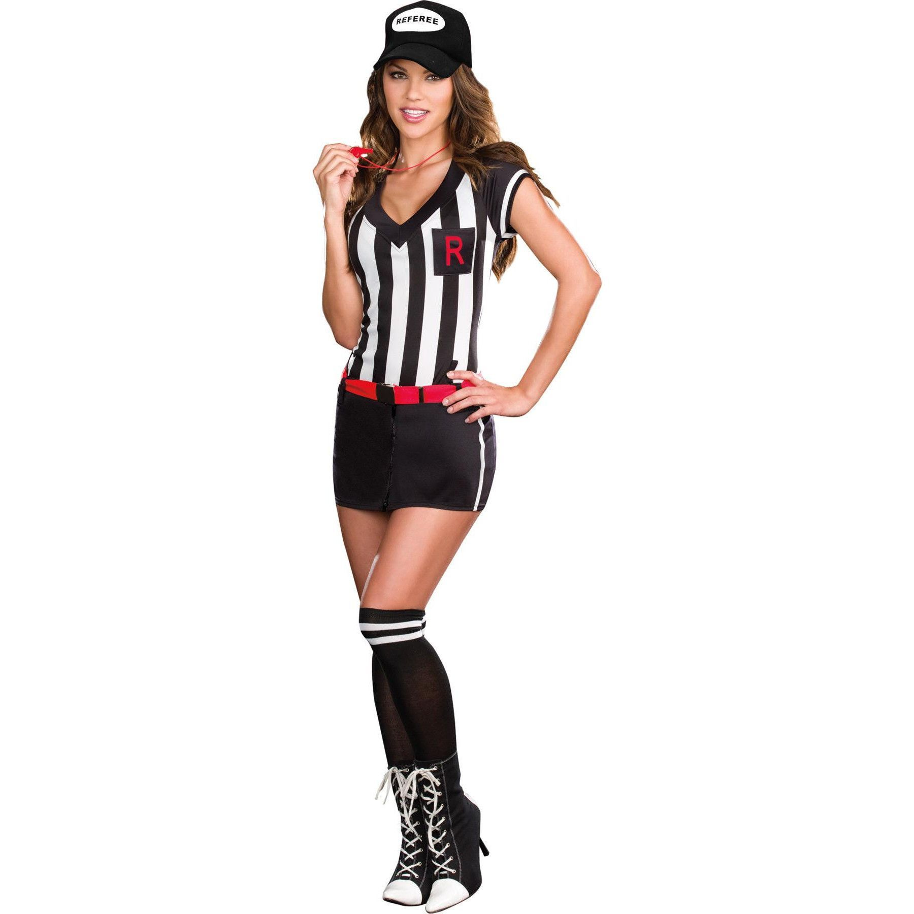 Out Of Bounds Large Referee costume, Halloween costumes
