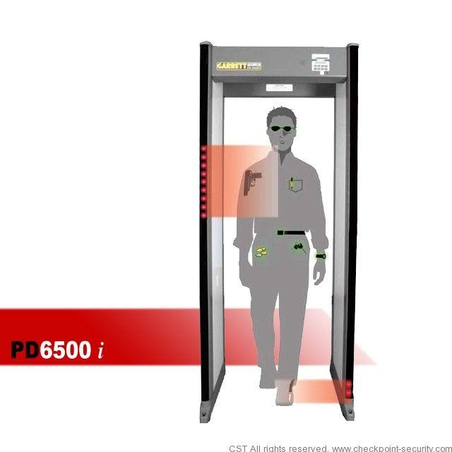 Garrett Pd6500i Walk Through Metal Detector Walk Through Metal Detector Metal Detector Metal Detecting Tips