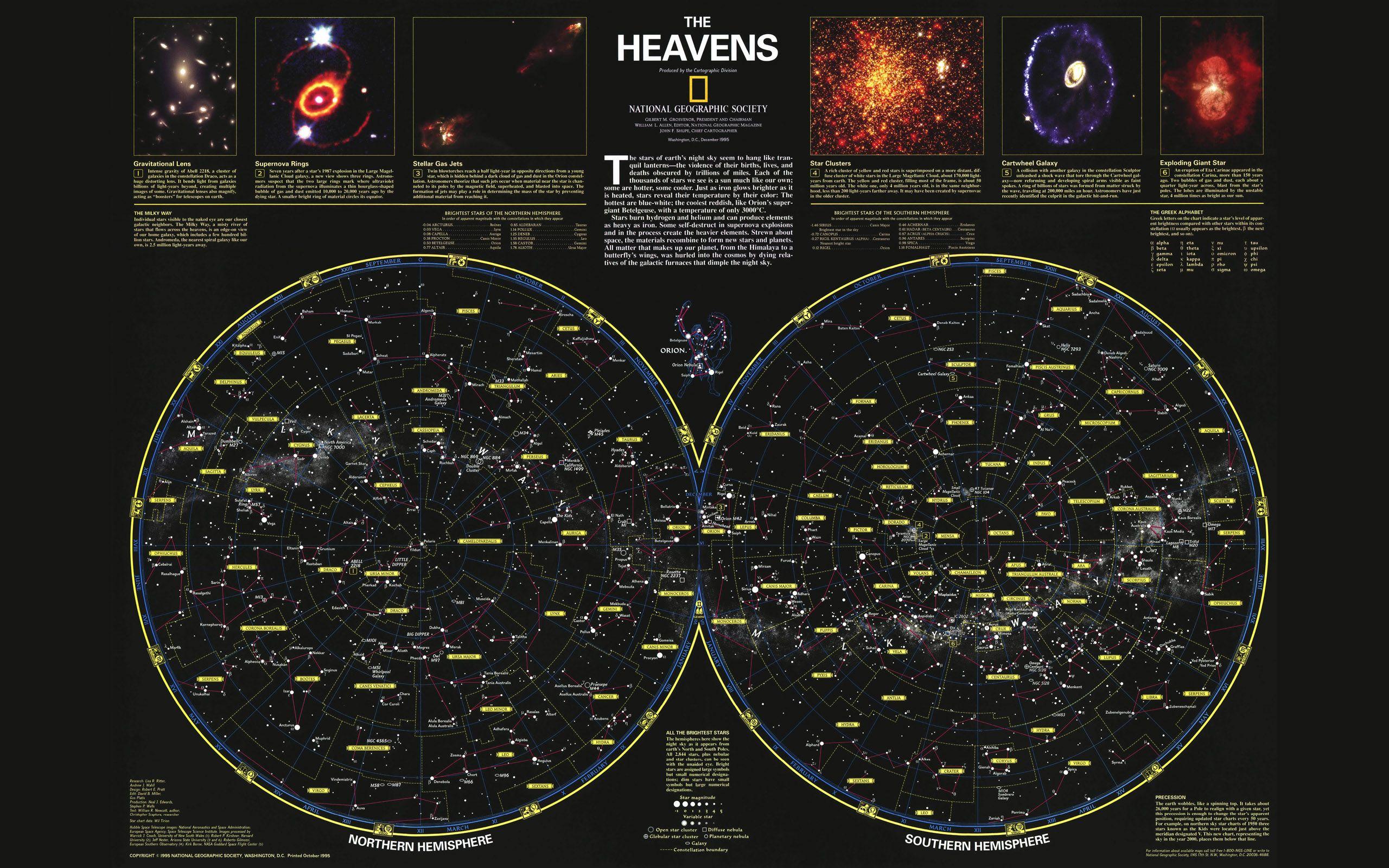 starmap chart Google Search Heaven wallpaper, Poster