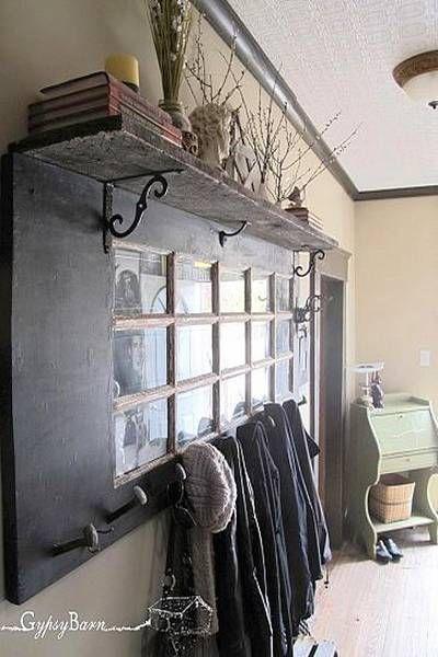 formas de reutilizar y reciclar viejas puertas de madera para